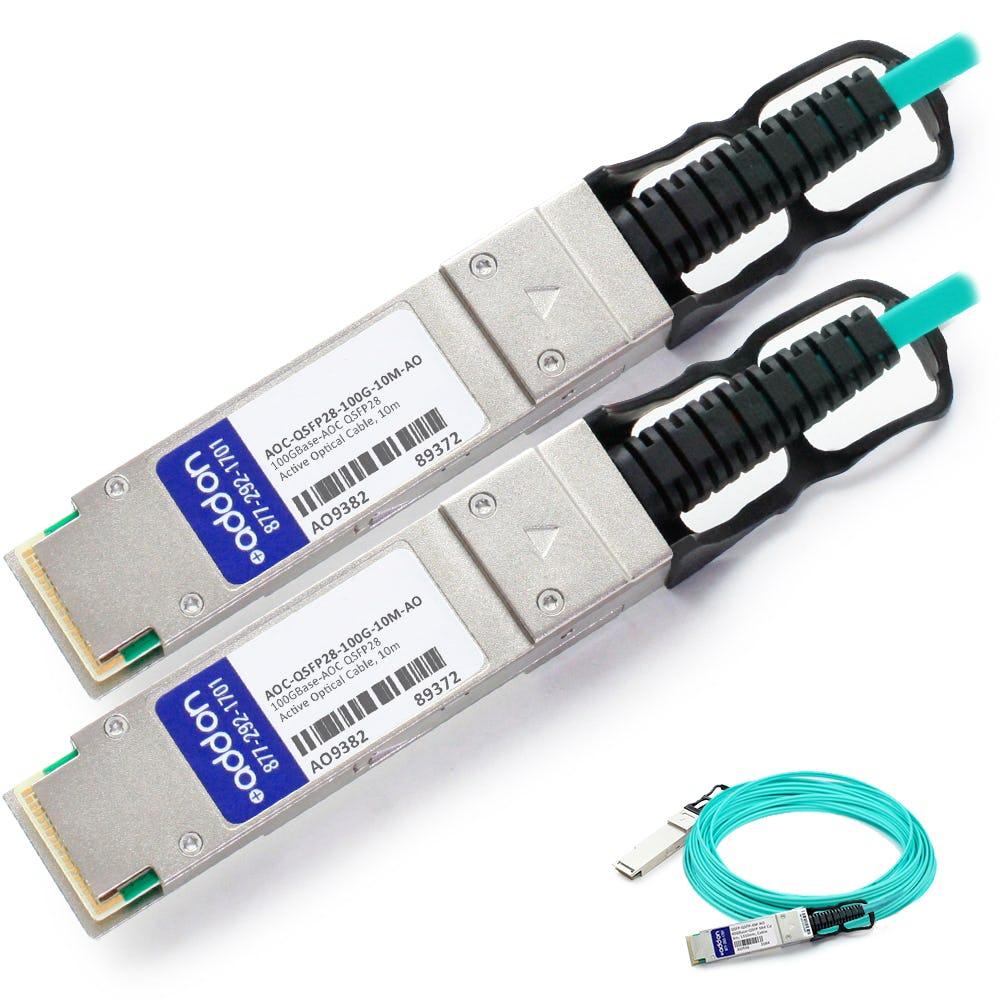 AOC-QSFP28-100G-10M-AO
