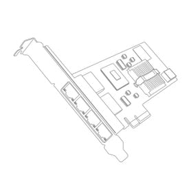 Dual Port 10GbE SFP+ Embedded Adapter for IBM System X - 90Y6454 image