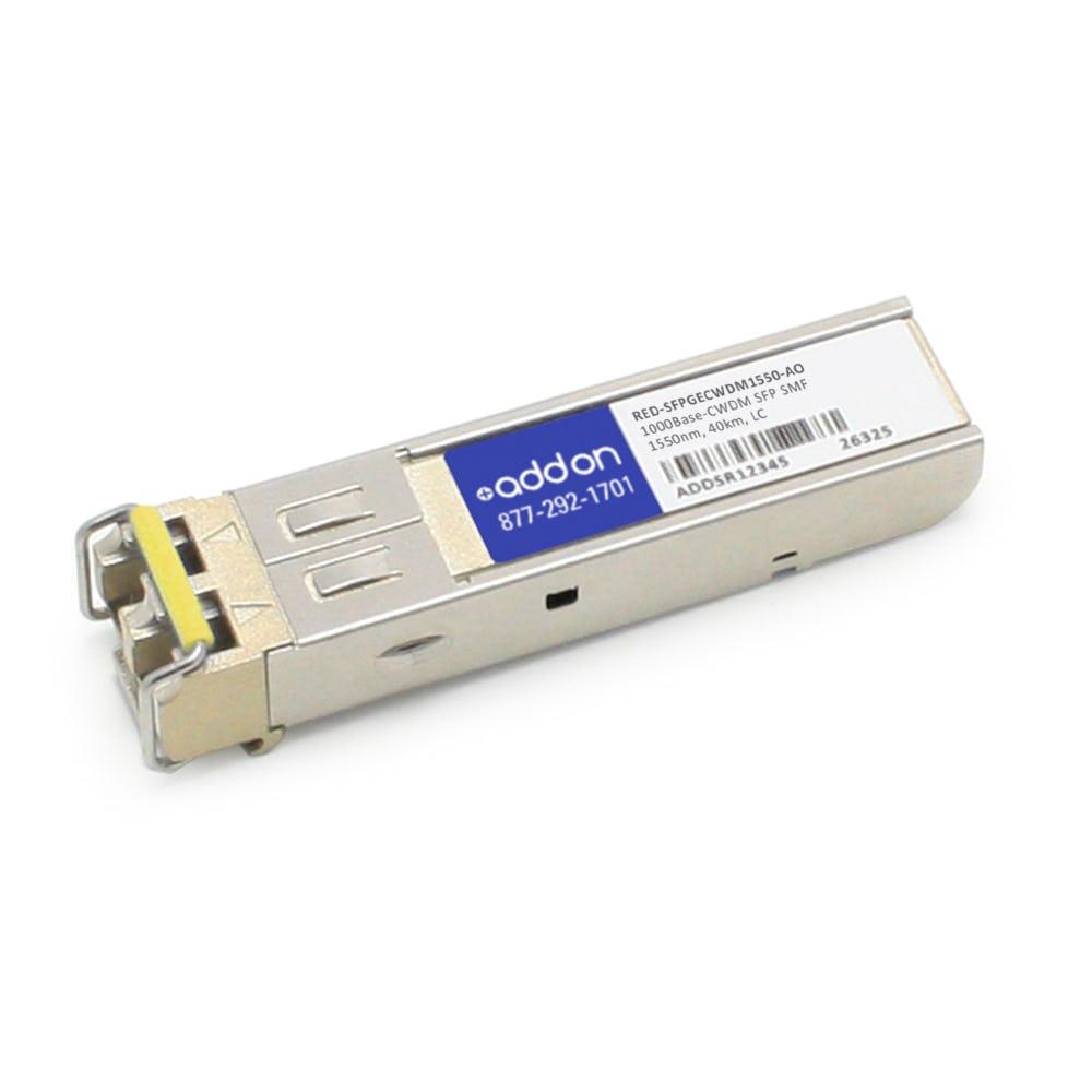 RED-SFPGECWDM1550-AO
