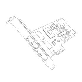 Ethernet Performant Server Adapter - SFN5162F Dual Port SFP+ 10G