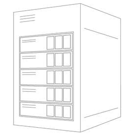 Fire X4150 Server image