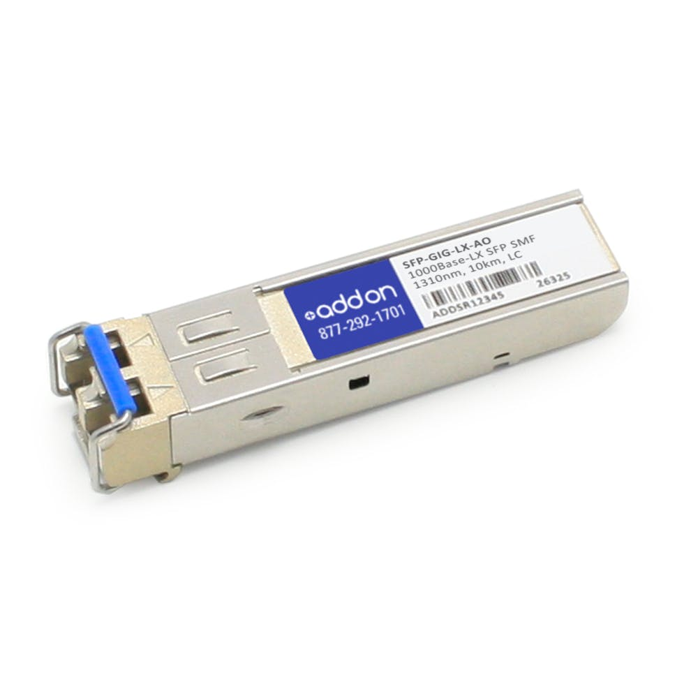 1000Base-LX SFP SMF 1310nm LC 10km Compatible with Alcatel-Lucent SFP-GIG-LX