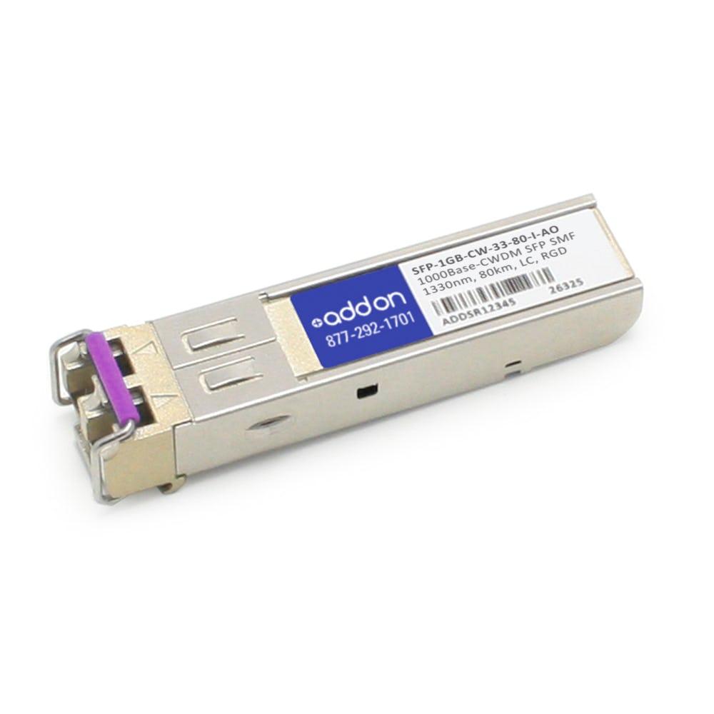 SFP-1GB-CW-33-80-I-AO