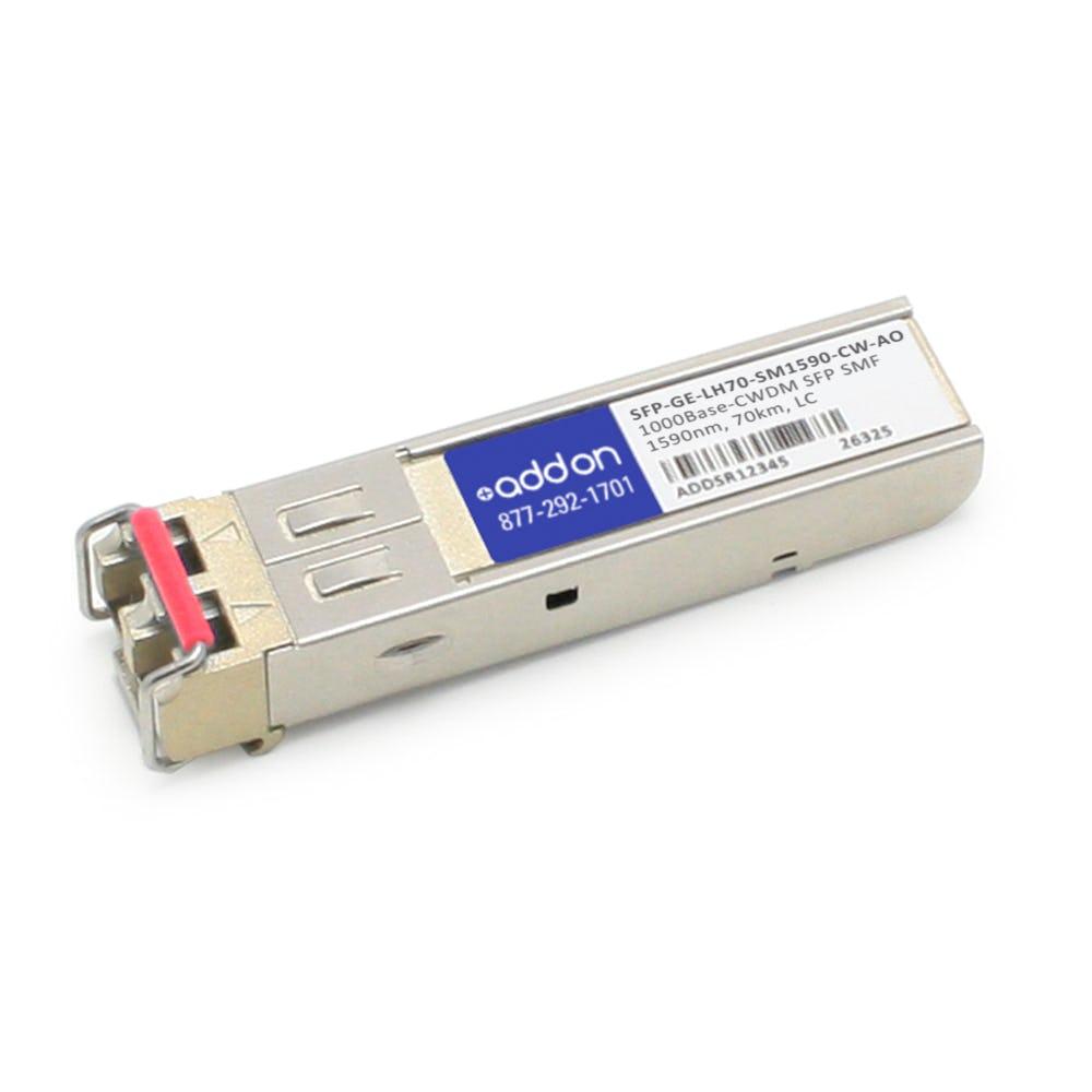SFP-GE-LH70-SM1590-CW-AO