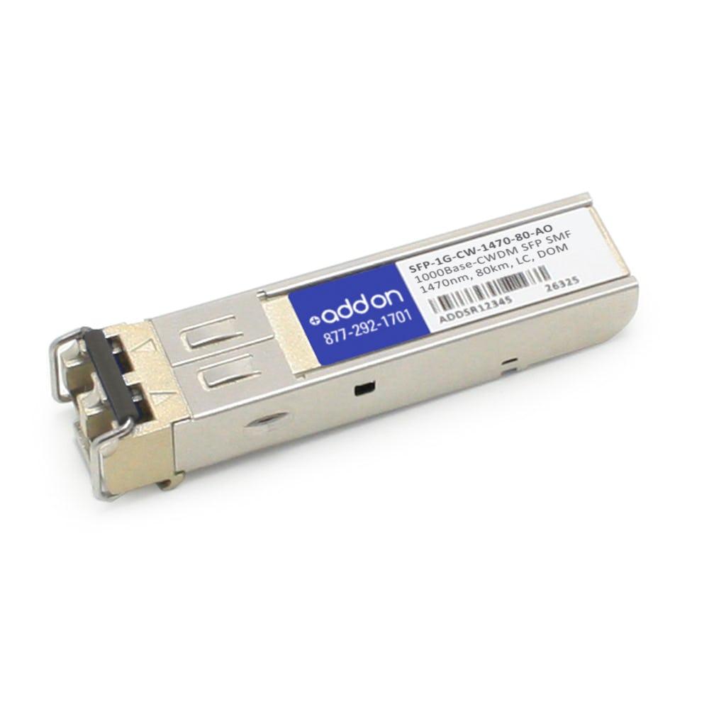 SFP-1G-CW-1470-80-AO